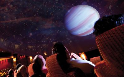 Queen Mary 2 planetarium