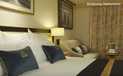 Queen Mary 2 new Britannia stateroom 2016