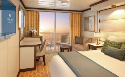 Royal Princess balcony stateroom