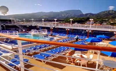 Pacific Princess pool