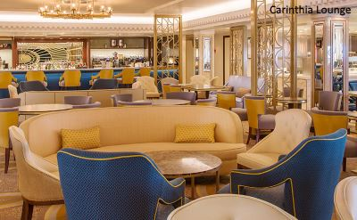Queen Mary 2 new Carinthia Lounge 2016